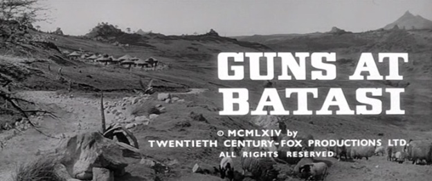 Guns At Batasi title screen