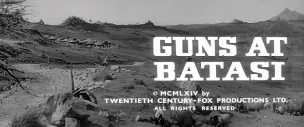 Guns At Batasi title screen