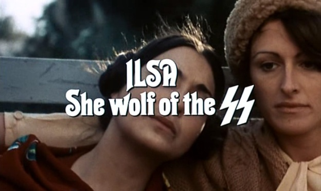Ilsa She Wolf Of The SS title screen