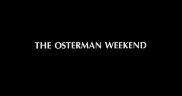 The Osterman Weekend title screen