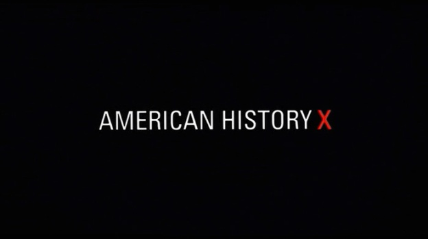 American History X title screen