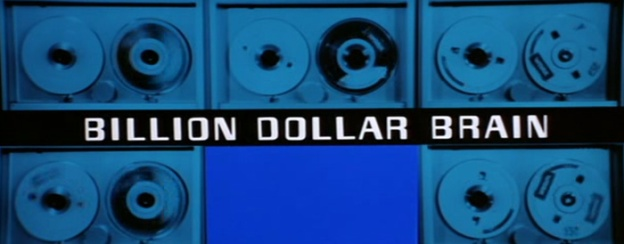 Billion Dollar Brain title screen