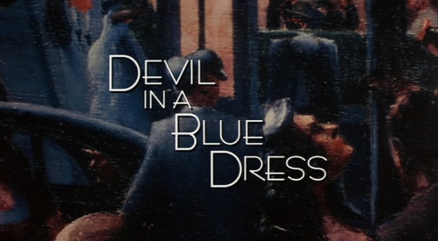 Devil In A Blue Dress title screen