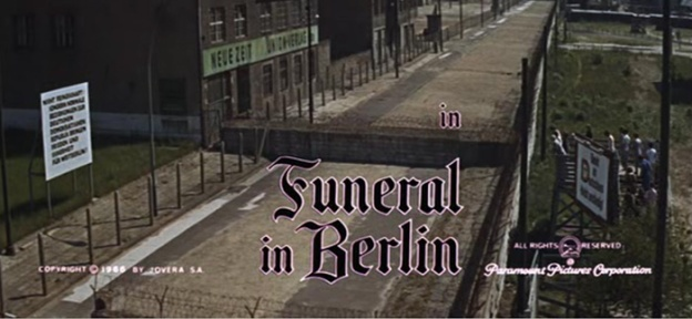 Funeral In Berlin title screen