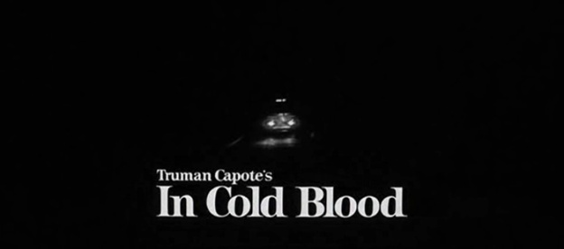 In Cold Blood title screen