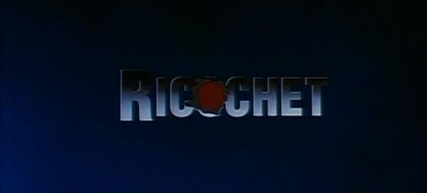 Ricochet title screen