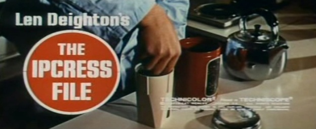 The Ipcress File title screen