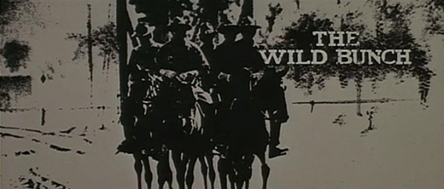 The Wild Bunch title screen