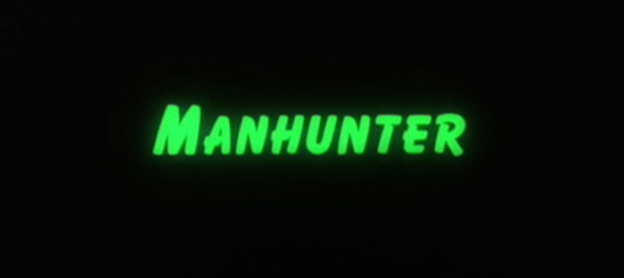 Manhunter title screen