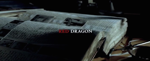 Red Dragon title screen
