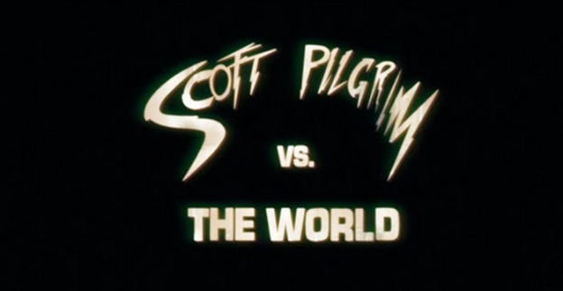 Scott Pilgrim Vs. The World title screen