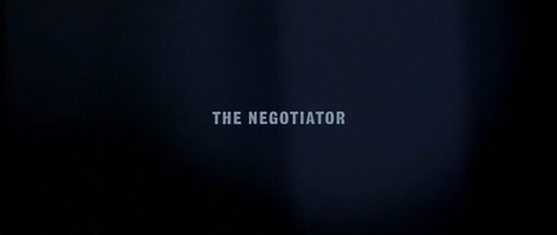The Negotiator title screen