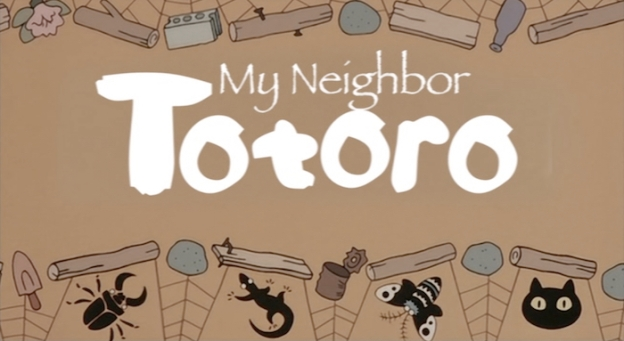 My Neighbour Totoro title screen
