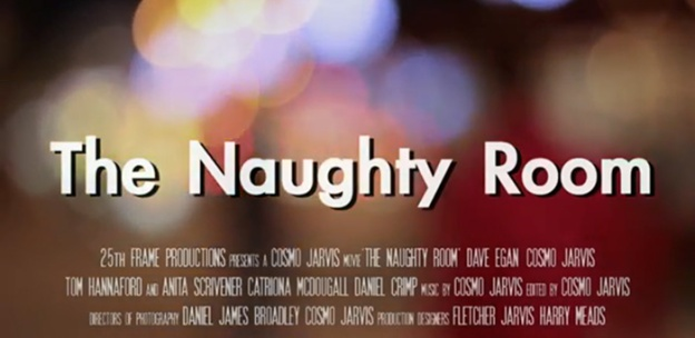 The Naughty Room title screen