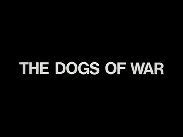 The Dogs Of War title screen