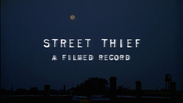Street Thief title screen
