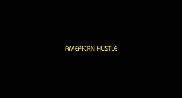 American Hustle title screen