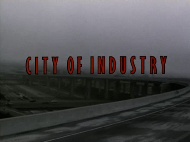 City Of Industry title screen