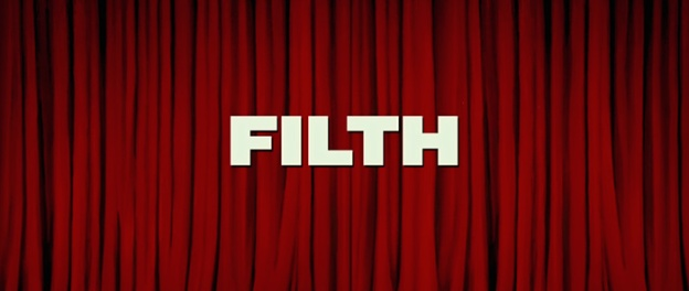Filth title screen