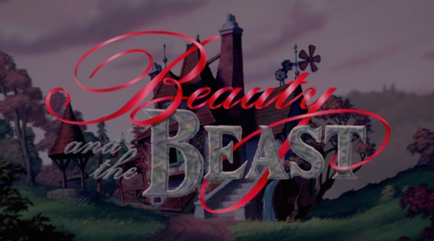 The Beauty And The Beast title screen