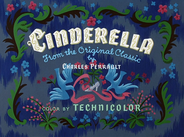 Cinderella title screen