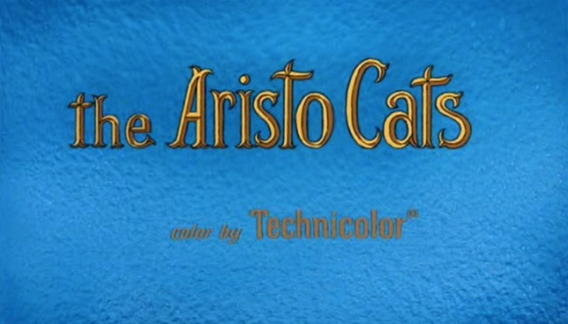 The Aristocats title screen