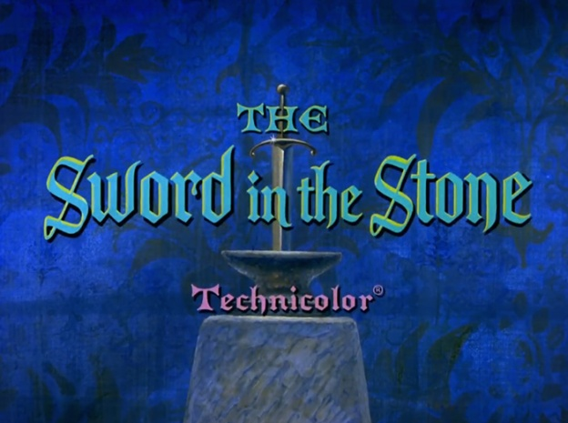 The Sword And The Stone title screen