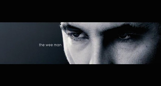 The Wee Man title screen