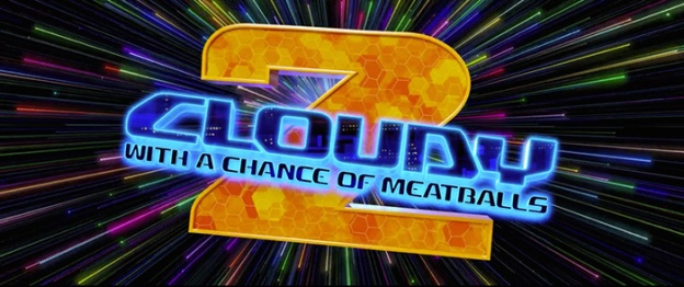 Cloudy With A Chance Of Meatballs 2 title screen