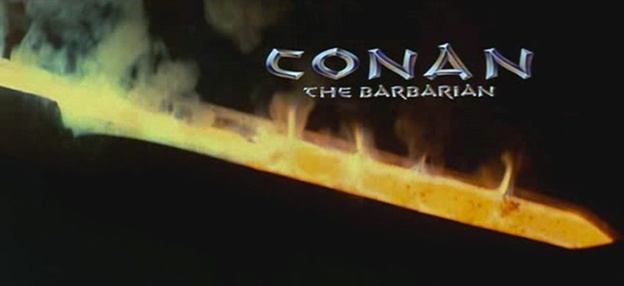 Conan The Barbarian (1982) title screen