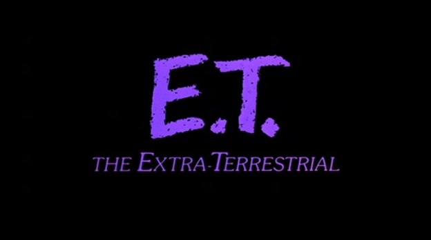 E.T. The Extra-Terrestrial title screen