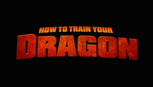 How To Train Your Dragon title screen