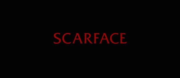 Scarface title screen