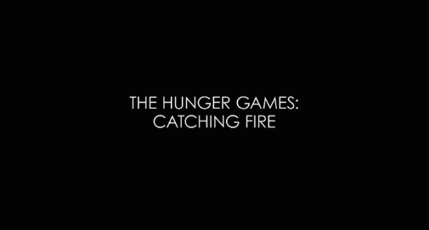 The Hunger Games: Catching Fire title screen