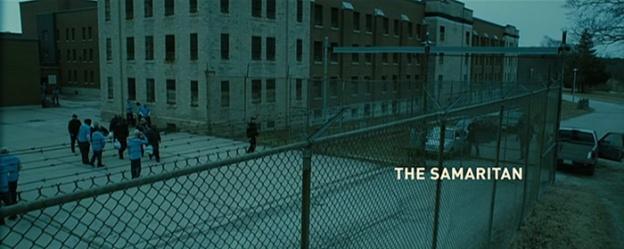 The Samaritan title screen