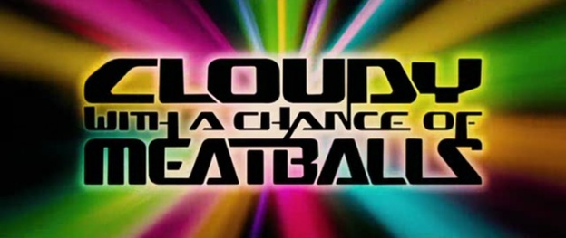 Cloudy With A Chance Of Meatballs title screen
