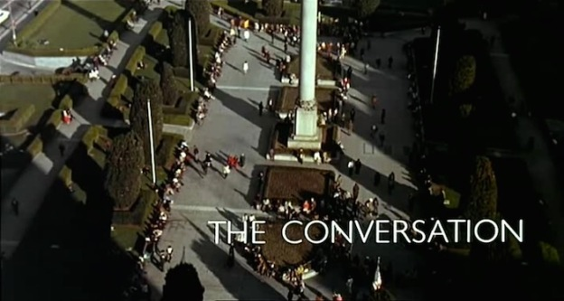 The Conversation title screen