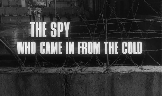 The Spy Who Came In From The Cold title screen