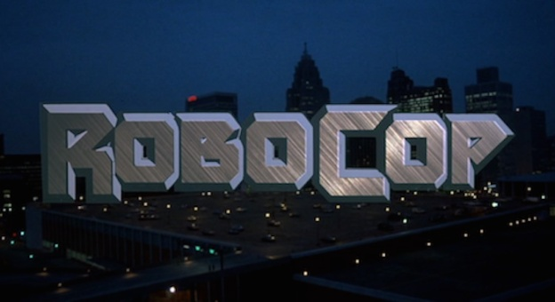 Robocop (1987) title screen
