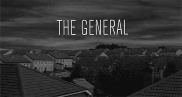 The General (1998) title screen