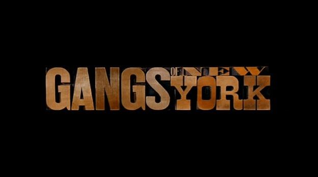 Gangs Of New York title screen