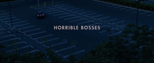 Horrible Bosses title screen