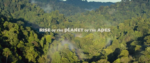 Rise Of The Planet Of The Apes title screen