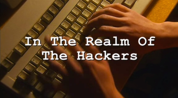 In The Realm Of The Hackers title screen