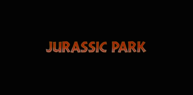 Jurassic Park title screen
