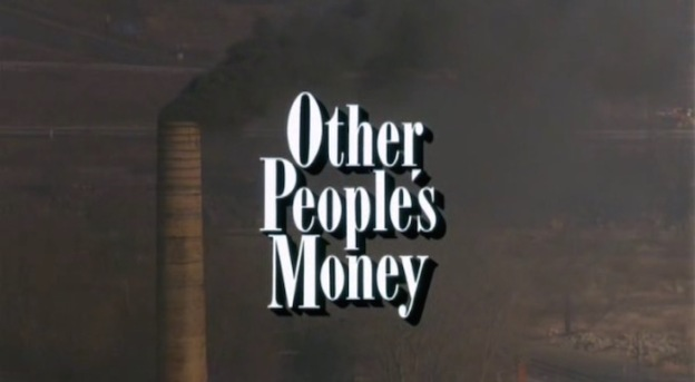 Other People's Money title screen