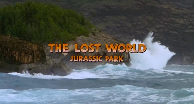 The Lost World: Jurassic Park title screen