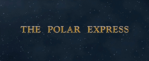 The Polar Express title scree