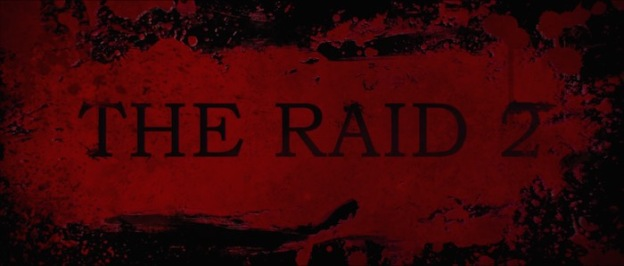 The Raid 2: Berendal title screen