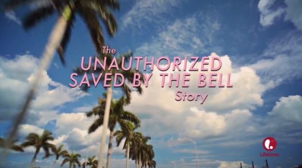 The Unauthorised Saved By The Bell Story title screen